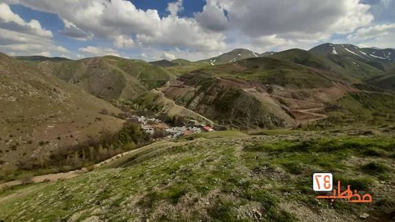 طبیعت زیبای روستای انجلیین خرمدره - عکاسی گردشگری