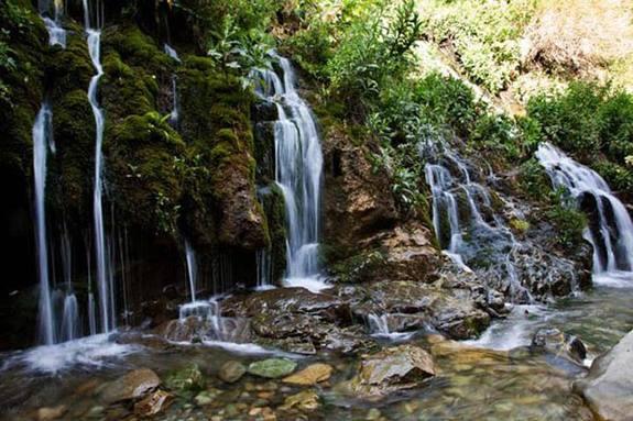 آبشار هفت چشمه، عکس از جاذبههای گردشگری