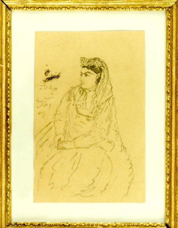 نقاشیهای دیده نشده ناصرالدین شاه